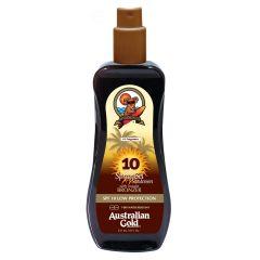 Australian Gold Spray Gel Sunscreen SPF 10 M/Selvbruner 237 ml