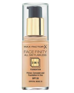Max Factor Facefinity 3 in 1 Crystal Beige 33 - 30 ml