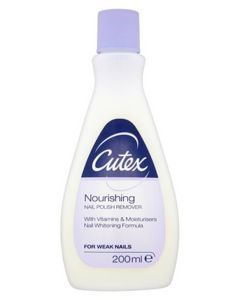 Cutex Nourishing Nail Polish Remover 200 ml