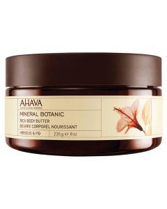 AHAVA Rich Body Butter -Hibiscus & Figen